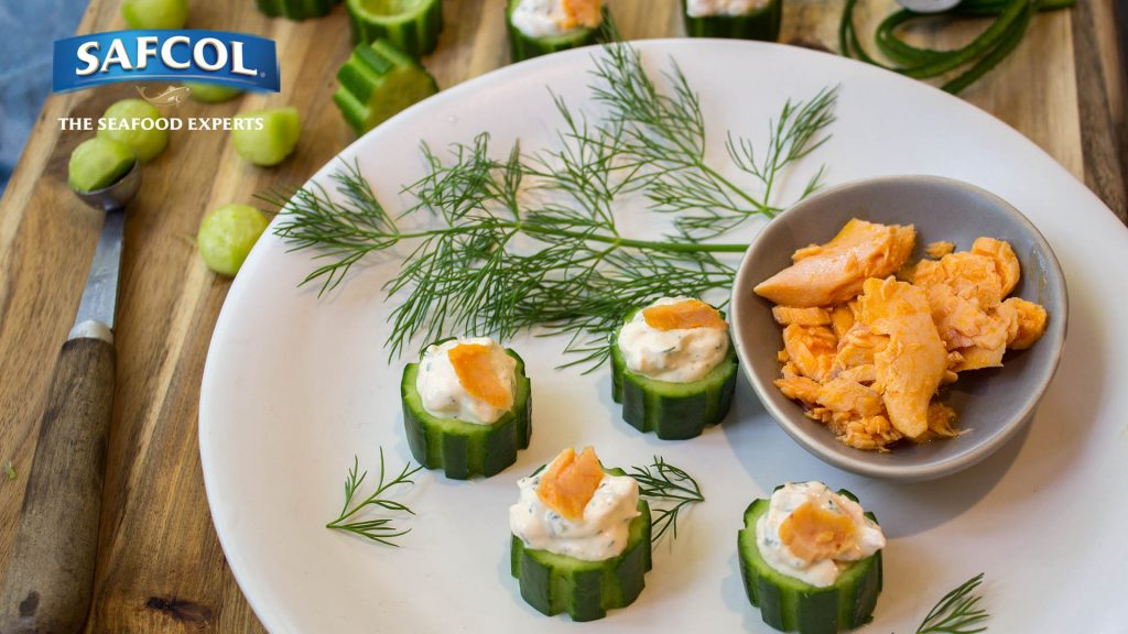 Elegant and easy to make, these crisp luxurious smoked salmon cucumber canapés are a great addition to any special occasion.