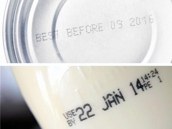 Best before and use by dates