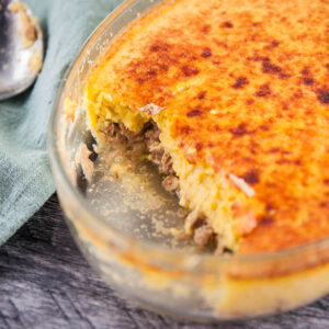 Tuna and Corn Gratin
