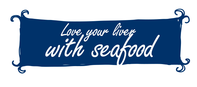 Love your liver with seafood